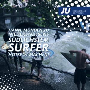 surfen, welle, wasser
